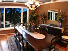 lake view dining room.